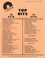 List of music hits